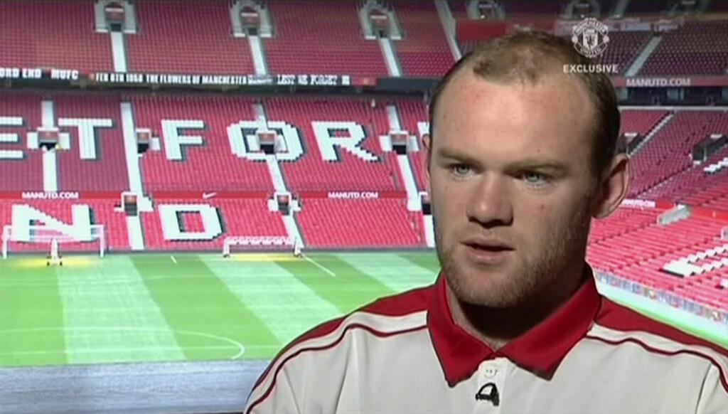HÅPLØS PÅ KJØKKENET: Wayne Rooney har gjort stor sukess på fotballbanen for Manchester United og det engelske landslaget, men på kjøkkenet er han mildt sagt en amatør. Foto: Stella Pictures