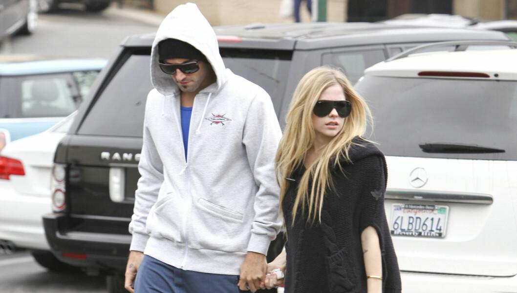 BRUDD: Avril skal ha holdt Brody Jenner tilbake, selv om han ønsket å jobbe med karrieren sin. Det skal ha ført til bruddet. Foto: All Over Press