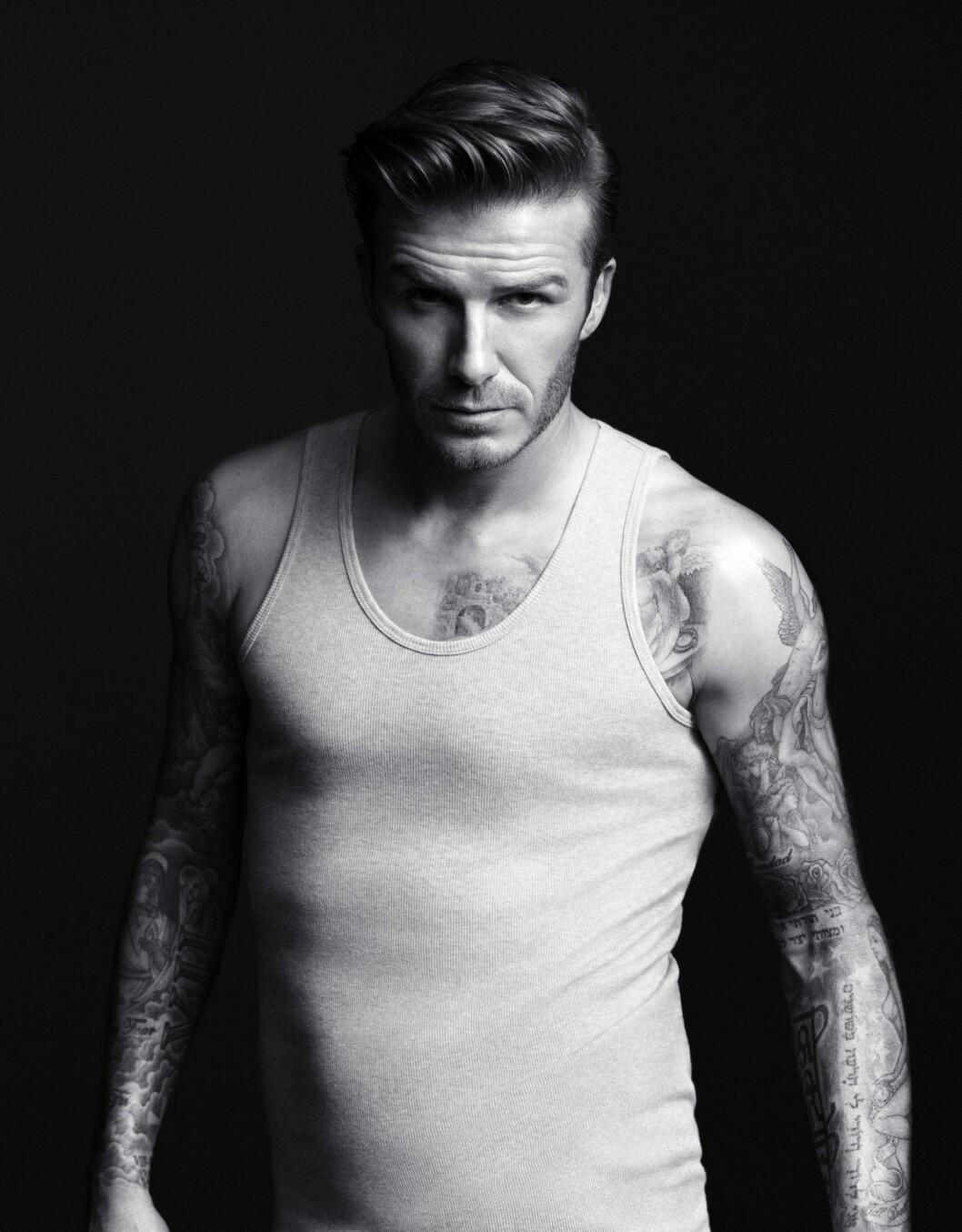 DESIGNER: Beckham kan mer enn å spille fotball, og har nå også begynt å designe klær.  Foto: H&M