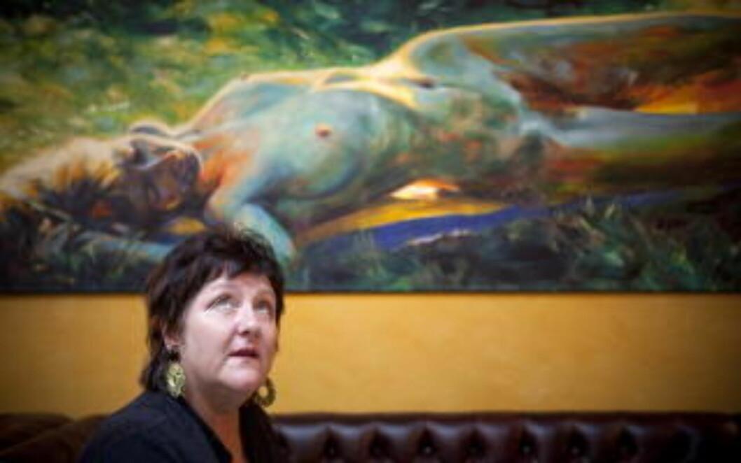 <strong>- YTRINGSPLIKT:</strong> Anne B. Ragde støtter Seierstad. Foto: Ole Morten Melgård.