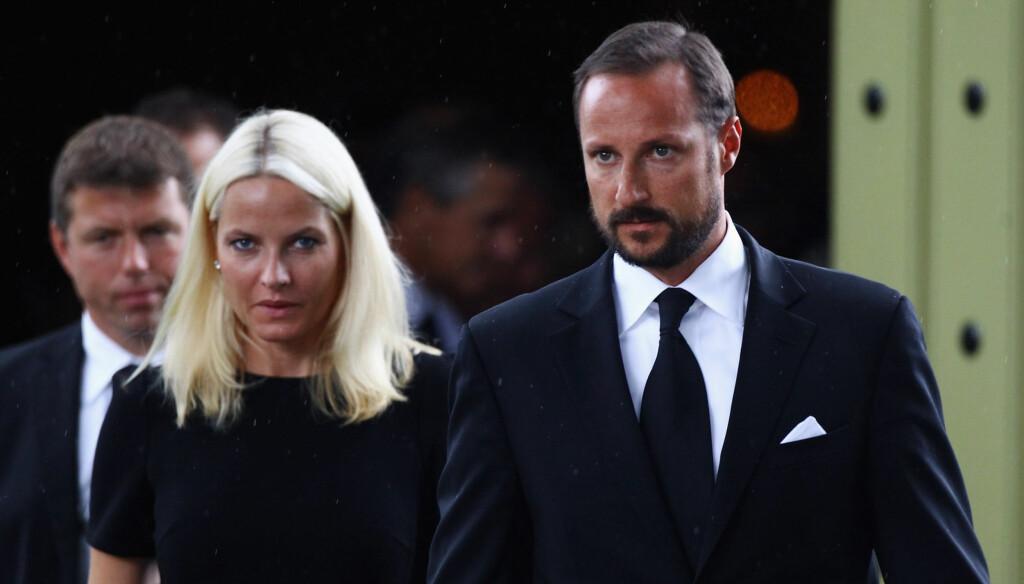 VURDERTE Å TAKKE NEI: Men etter å ha tenkt seg om, ønsket Haakon å bli kronprins. Foto: All Over Press