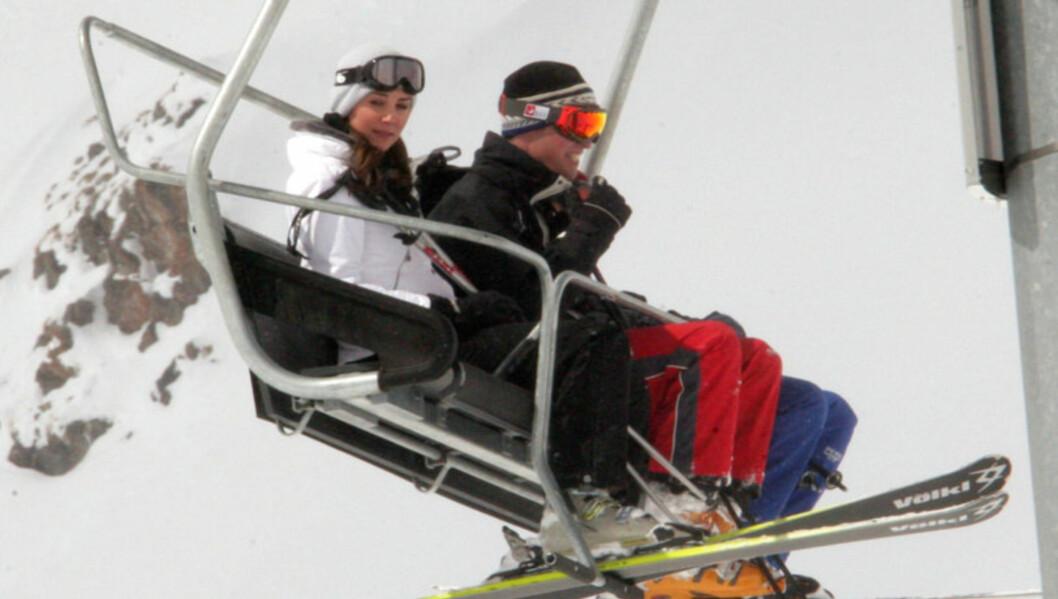 VRAKER SKIFERIEN: I 2008 var Kate Middleton med til Sveits som prins Williams kjæreste, men ifølge Us Weekly blir det ikke noe skiferie i år for det ferske ekteparet. Foto: Stella Pictures