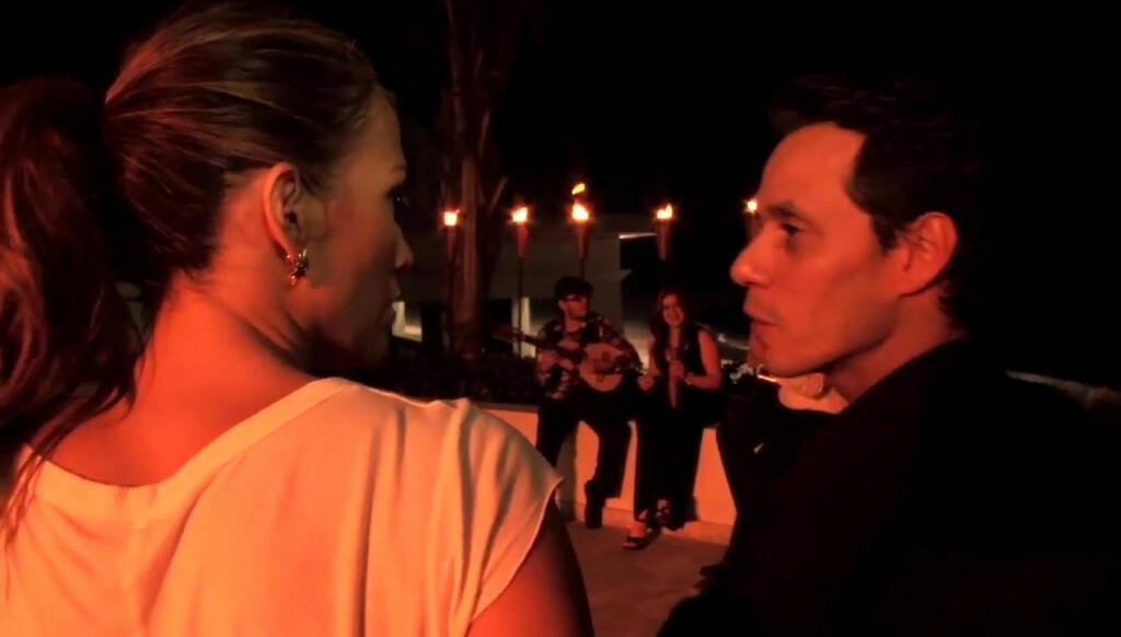 ISKALDT: - Marc Anthony oppfører seg som en bedratt mann og forsøker å straffe Jennifer Lopez, hevder en kilde. Foto: Stella Pictures