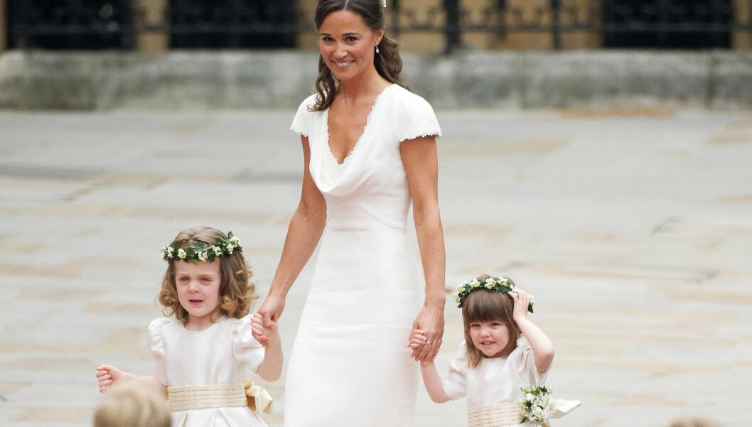 SEX-SYMBOL: Pippa Middleton stjal glansen i bryllupet til prins William og Kate Middleton i april, og ble stjerne over natten. Foto: All Over Press