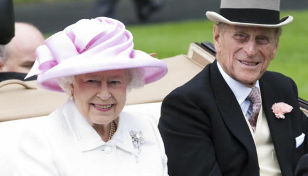 PÅ SYKEHUS: Dronning Elizabeth benyttet julaften til å besøke sin hjertesyke ektemann prins Philip på sykehus i Cambridge. Foto: Stella Pictures