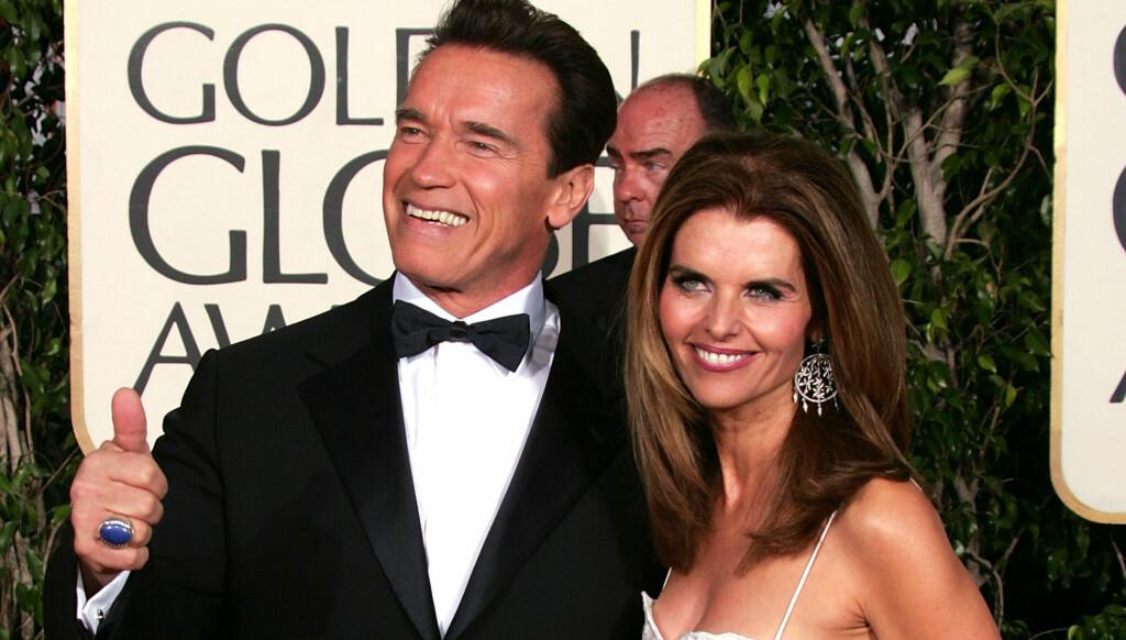 SAMMEN IGJEN: Arnold Schwarzenegger og Maria Shriver tilbragte julen sammen, med barna tilstede. Foto: All Over Press