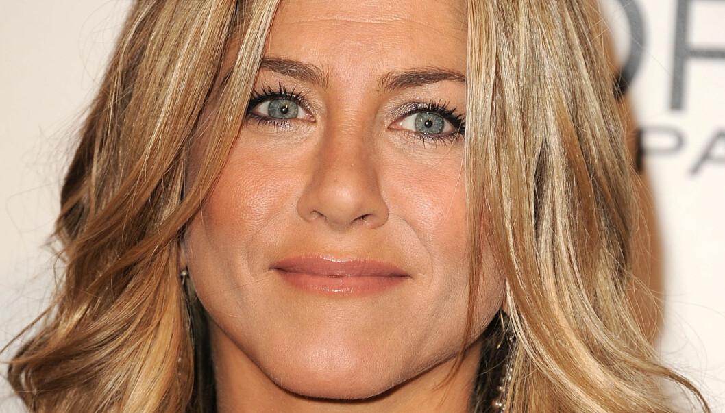 HAR TATT INJEKSJONER: Jennifer Aniston innrømmer at hun har fått ting sprutet inn under huden før, men at hun ikke gjør det lenger. Foto: All Over Press