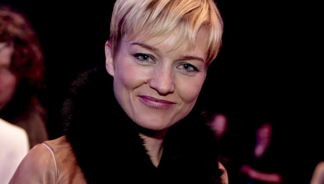 LYKKELIG: Ulrikke Døvigen, her under åpningen av Oslo Fashion Week i Oslo tidligere i år, er lykkeligere enn noensinne. Til sommeren gifter hun seg med mannen i sitt liv.  Foto: SCANPIX