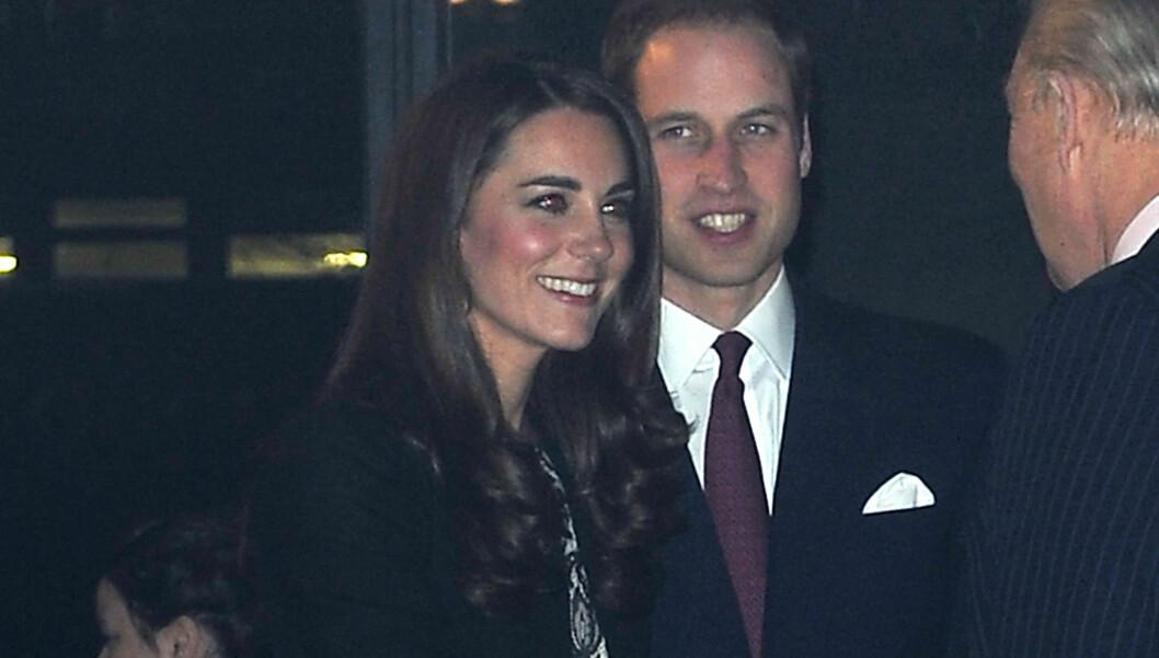 ADVARER: - Kate vil nok ikke ha mulighet til å tilbringe morgenen 1. juledag i pyjamas, sier en hoffkilde om hertuginnen Kates første kongelige julefeiring.  Foto: Black Sheep/Eagle