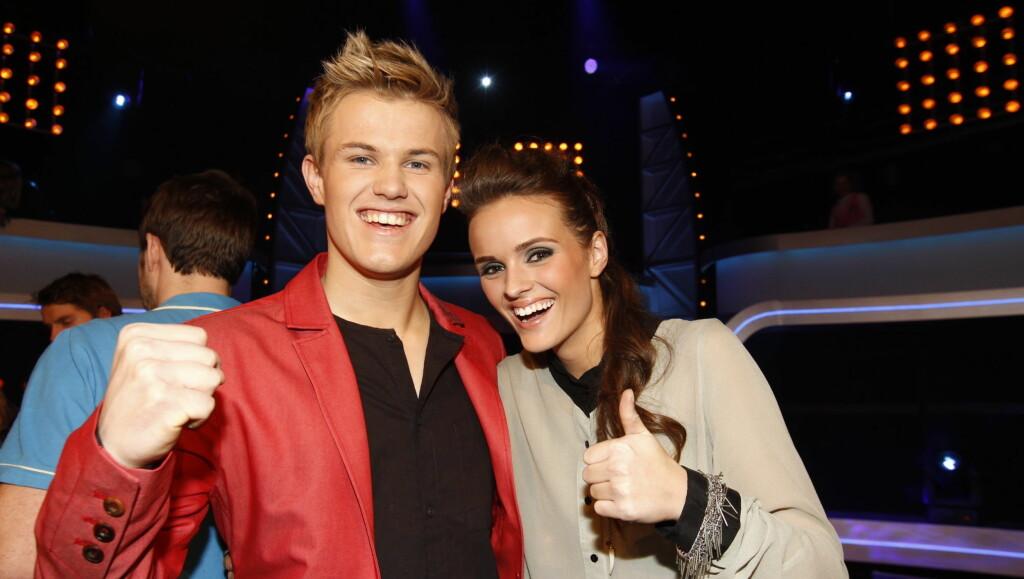 FINALISTER: Vegard Leite og Jenny Langlo skal kjempe mot hverandre om å bli Norges nye idol. Foto: Stella Pictures