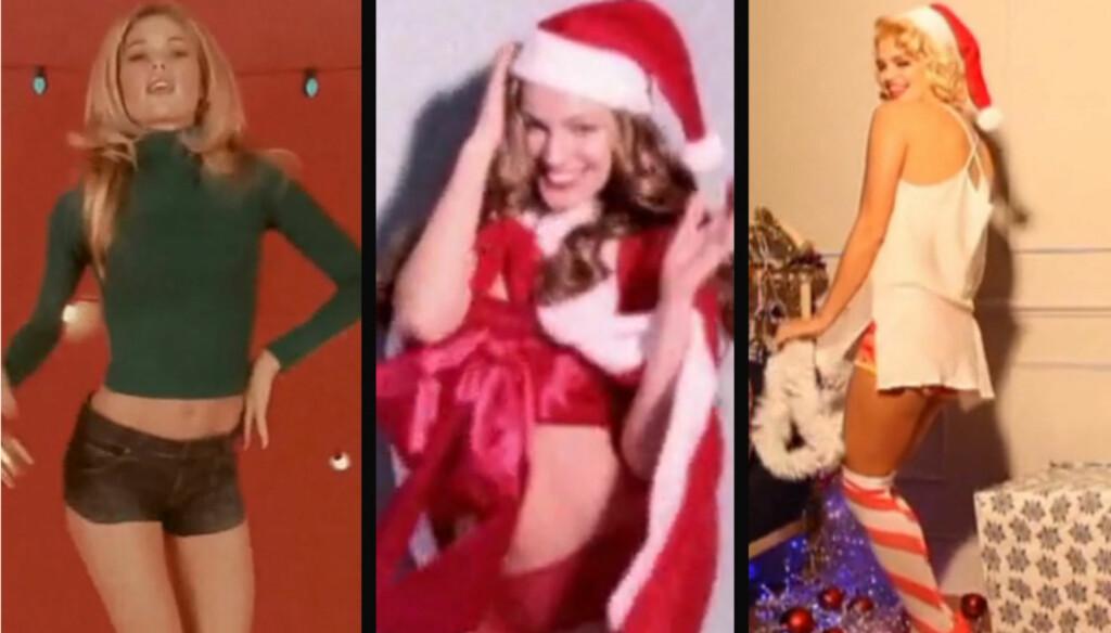 GOD JUL: Slik ringer modellene Doutzen Kroez og Kelly Brook, samt Bob Geldofs datter Pixie inn julen i adventskalenderen til bladet LOVE.