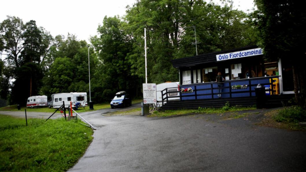 <strong>SKJEDDE UTENDØRS:</strong>  Voldtektene skal ha skjedd inne på området til Oslo Fjordcamping. Foto: TORBJØRN GRØNNING