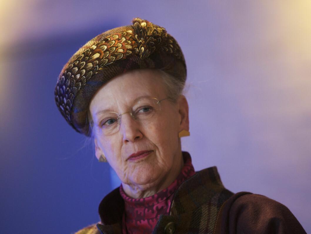 SKUFFET: Dronning Margrethe av Danmark blir ikke akkurat godt mottatt av sine medkunstnere. Foto: Scanpix