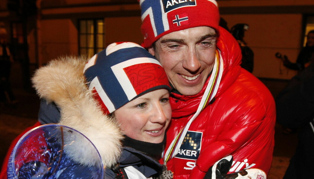 BLIR TOBARNSFORELDRE: Eldar og Laila Selbæk Rønning venter barn nummer to. Foto: Scanpix