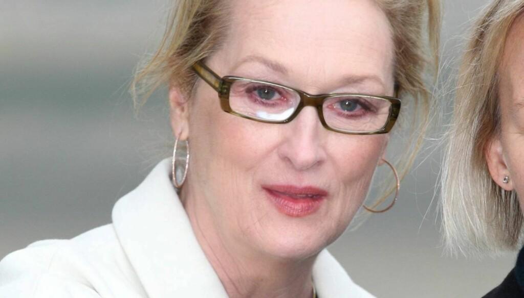 VAR SKEPTISK: - Jeg husker jeg spurte mannen min om hva vi skulle gjøre nå. Fordi det var jo over, sier Meryl Streep om den gangen hun  passerte 40 år. Etterpå har hun vært hetere enn noensinne. Foto: All Over Press