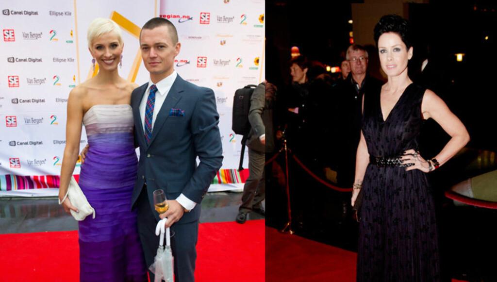 VANT I 2010: Ailo Gaup, her med sin bedre halvdel Anne Rimmen, og Lene Nystrøm ble kåret til Årets best kledde mann og kvinne i fjor. Foto: Scanpix