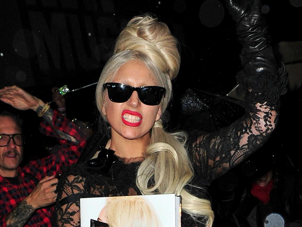 ENGASJERT: Popstjernen Lady Gaga er et forbilde for lesbiske og homofile verden over. - Dette er grunnen til at jeg jobber så hardt som jeg gjør, forklarer hun.