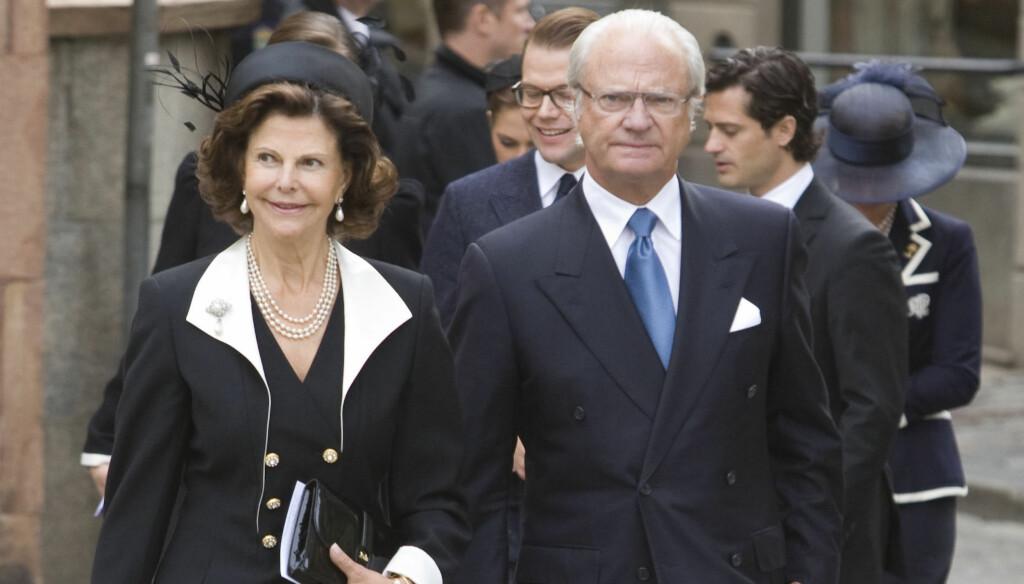 VIL HA DEBATT: Den svenske riksdagspolitikeren Lena Olsson vil ha en debatt om hvorvidt kong Carl Gustaf bør fortsette å ha immunitet overfor straffeloven eller ikke. Foto: Stella Pictures