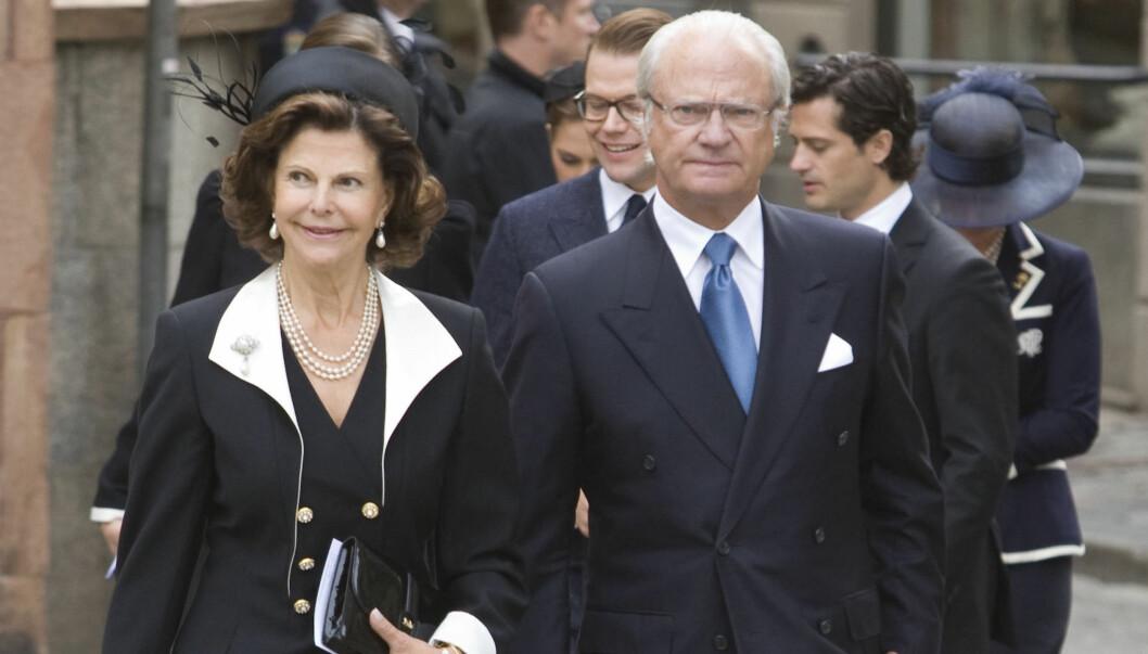 <strong>VIL HA DEBATT:</strong> Den svenske riksdagspolitikeren Lena Olsson vil ha en debatt om hvorvidt kong Carl Gustaf bør fortsette å ha immunitet overfor straffeloven eller ikke. Foto: Stella Pictures