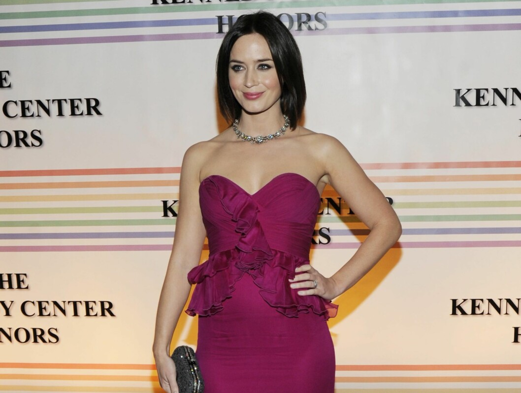 "ASSISTENT: Emily Blunt spilte Meryls assistent i motefilmen ""The Devil wears Prada"".  Foto: All Over Press"