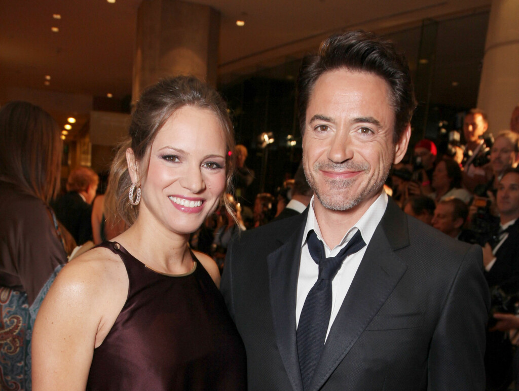 VORENDE FORELDRE: Robert Downey Jr. og kona Susan Levin venter sitt første barn sammen på nyåret. Foto: All Over Press