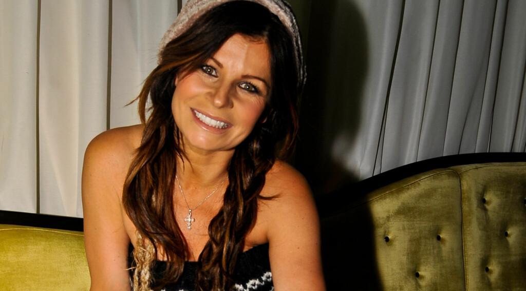 SLANKERE: Carola under torsdagens pressetreff for TV4s «The voice» - 12 kilo lettere enn i sommer. Foto: Stella Pictures