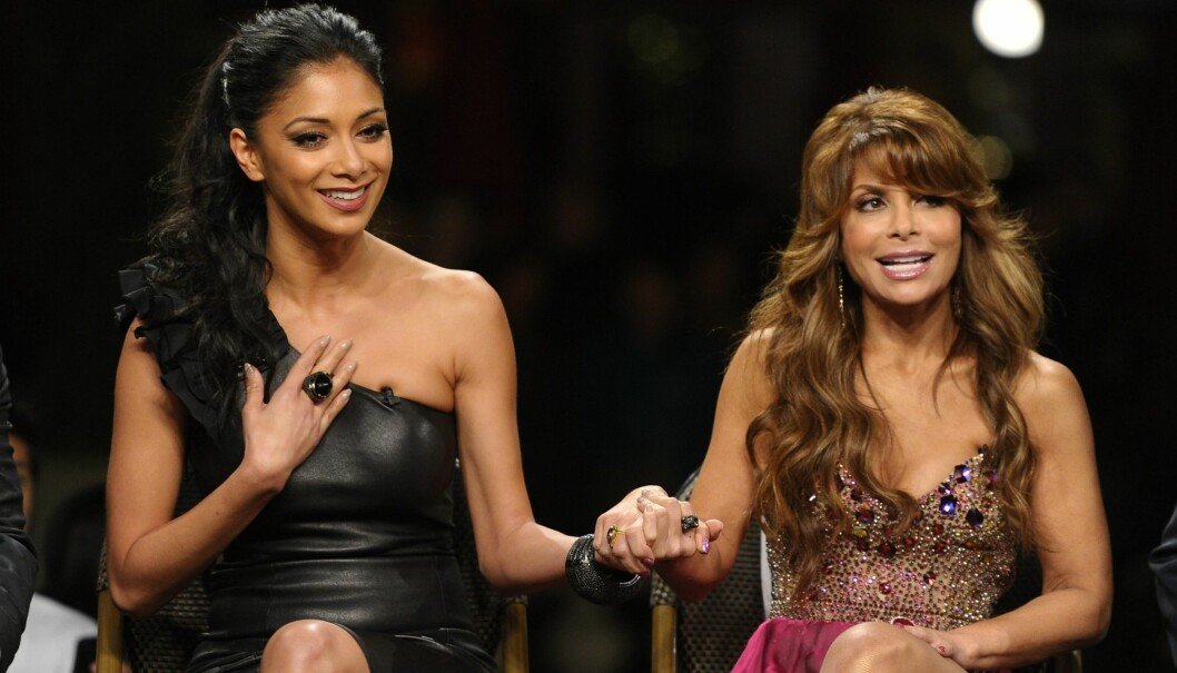 DØDSTRUSLER: Nicole Scherzinger og Paula Abdul har mottatt alvorlige trusler etter at de stemte hjem en «X-Faktor»-favoritt sist torsdag.  Foto: All Over Press
