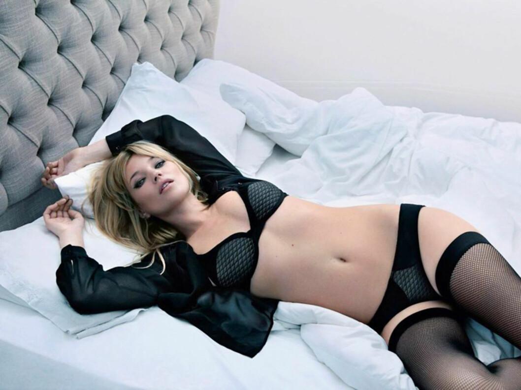 BLACK IS BACK: Det franske undertøysmerke Valisere er tiltenkt den selvbevisste og moderne kvinne. Foto: Stella Pictures