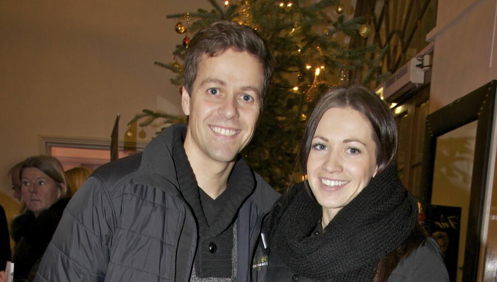 FELLES JUL: I august ble det kjent at Knut Arild Hareide hadde forlovet seg med Lisa Maria Larsen. Søndag var de på konsert sammen, der avslørte de at de har felles planer for julen.  Foto: Tore Skaar/Se og Hør