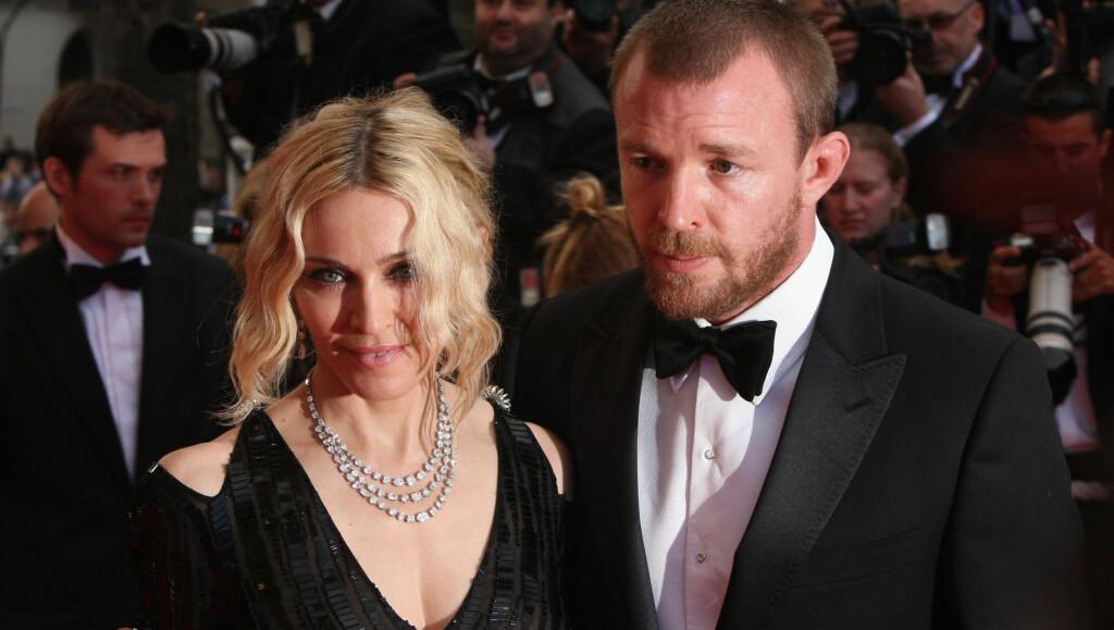ANGRER IKKE: Guy Ritchie beskriver sitt ni år lange ekteskap med Madonna som en såpeopera, men ville ikke vært foruten.  Foto: All Over Press
