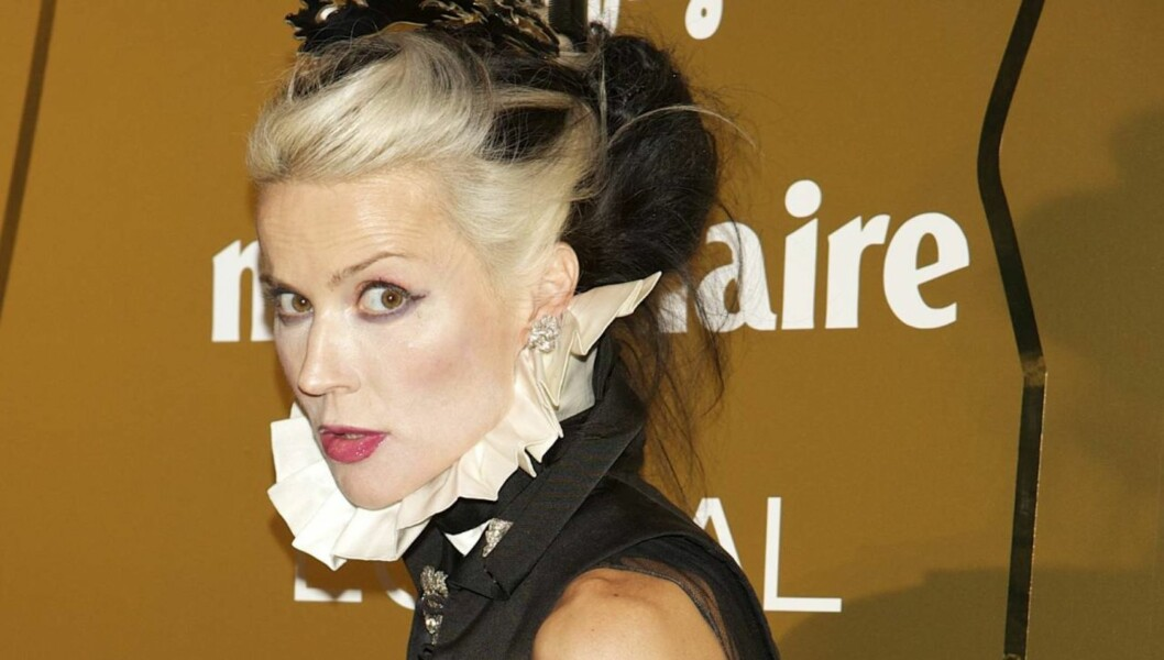 IKON: Daphne Guinness er et moteikon utenom det vanlige. Foto: All Over Press