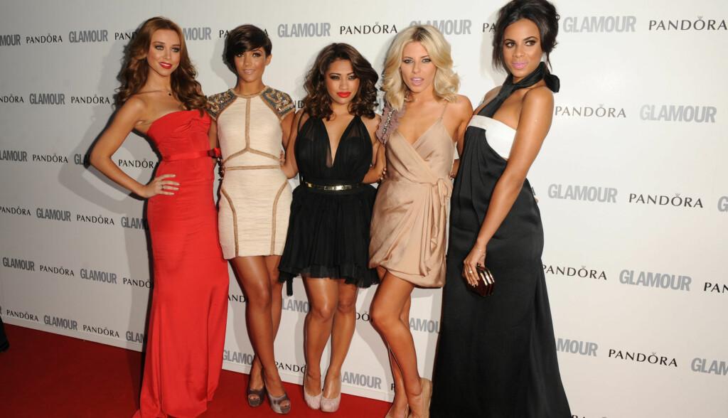 «The Saturdays»: Jentegruppa ble kåret til årets beste popgruppe da «Glamour Women of The Year Awards» ble avholdt i London i sommer. Foto: Stella Pictures