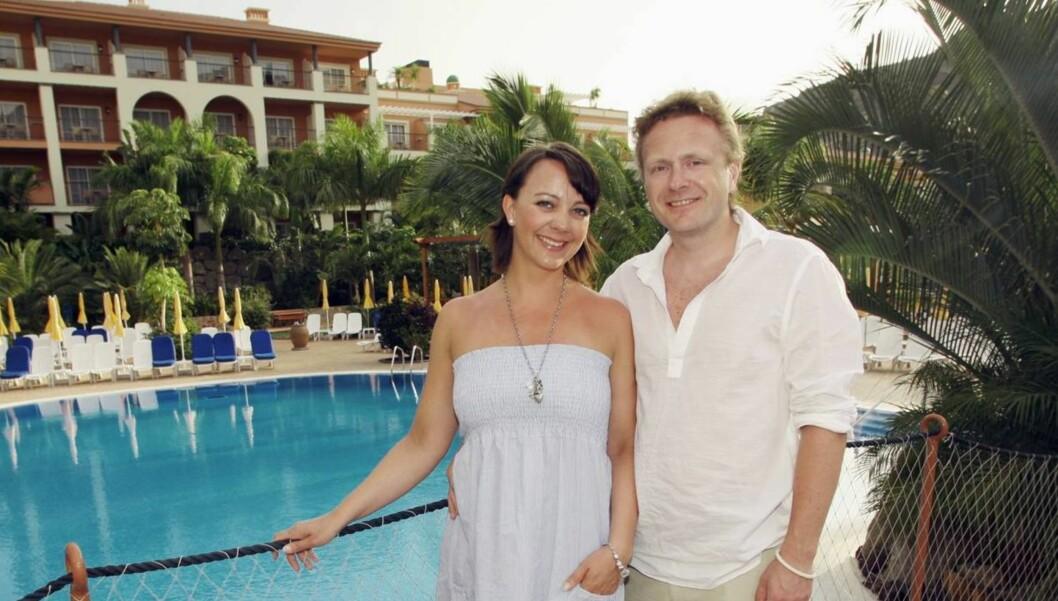 <strong>PÅ SPANIATUR:</strong> Marianne Westby besøkte i 2009 Hotel Cordial Mogán Playa, som onsdag ble rammet av eksplosjon, sammen med sin ektemann Frode Thorstad. Foto: Se og Hør, Bent Are Sigvaldsen