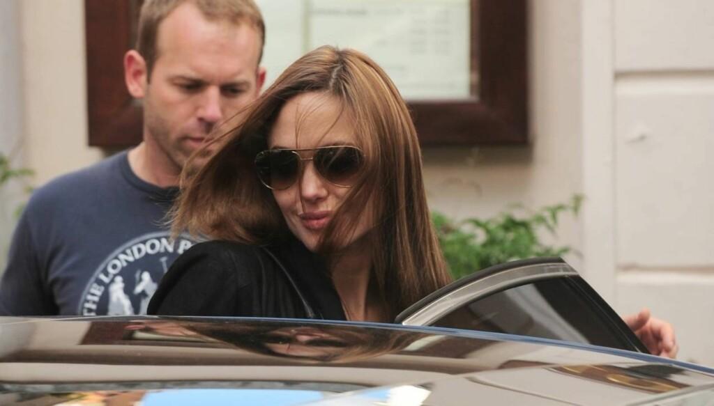 EKSTREMDIETT: Angelina Jolie skal ifølge bladet Grazia leve på en diett som består av kun 600 kalorier om dagen.  Foto: All Over Press