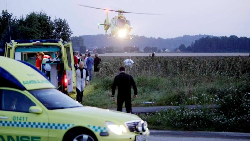 MISTET LIVET: Annan Forbes Hennie mistet livet i en fallskjermulykke i august. Foto: SCANPIX