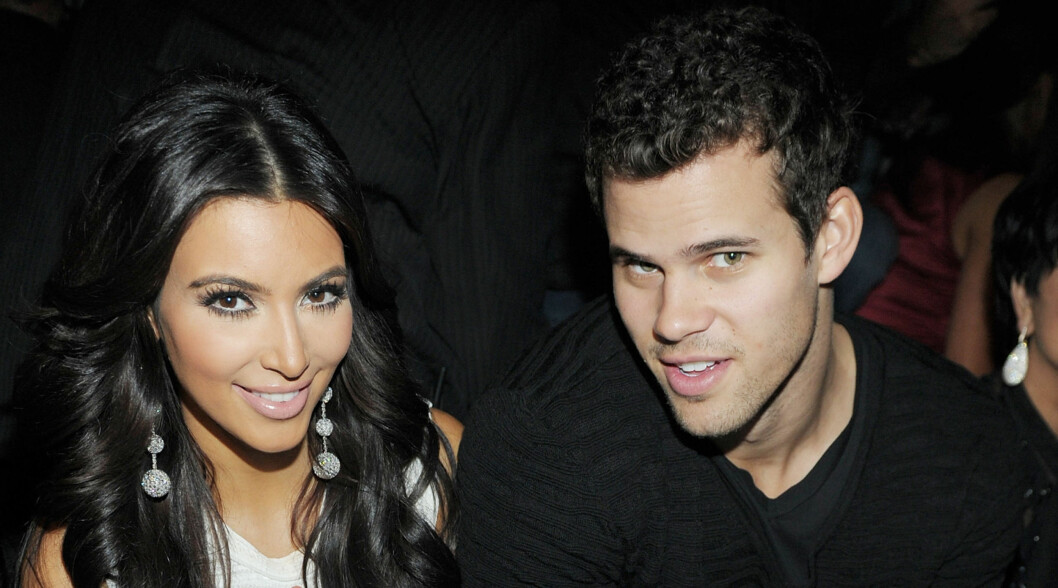 KORTVARIG LYKKE: Kim og Kris giftet seg kun ti måneder etter at de ble kjærester. Knappe ti uker senere søkte reality-baben om skilsmisse. Foto: All Over Press