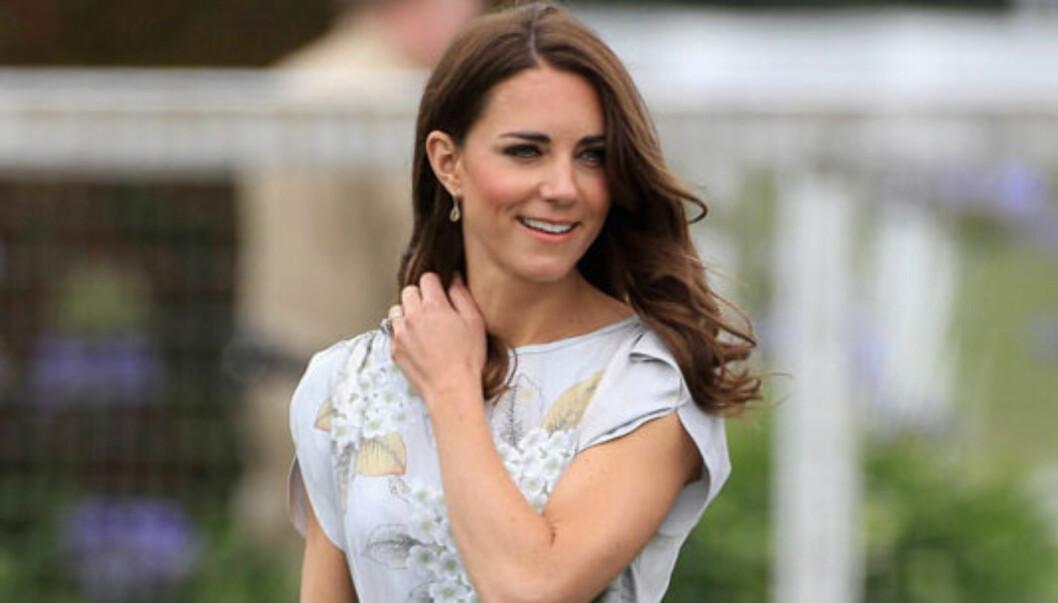 VAKKER: Ingen kan vel si seg uenig i at den engelske hertuginnen ikke er smellvakker. Foto: All Over Press