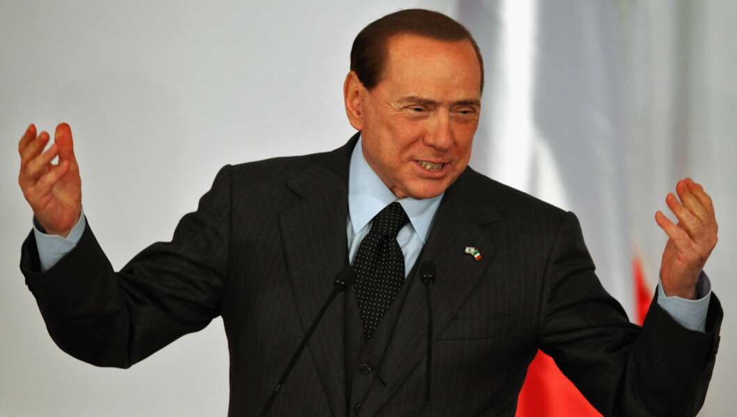 "NY KARRIERE: Italias tidligere statsminister, Silvio Berlusconi, hadde sin siste dag på jobb lørdag. Samme dag ga han ut plata ""True Love"". Nå satser han fult på en karriere som musiker. Foto: All Over Press"
