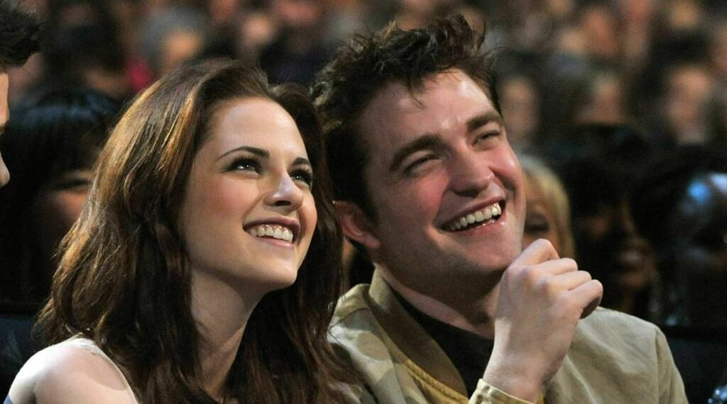"""KJÆRESTER: Kristen Stewart og Robert Pattinson har blitt verdenskjent som Bella Swan og Edward Cullen i """"Twilight""""-sagaen. Foto: All Over Press"""