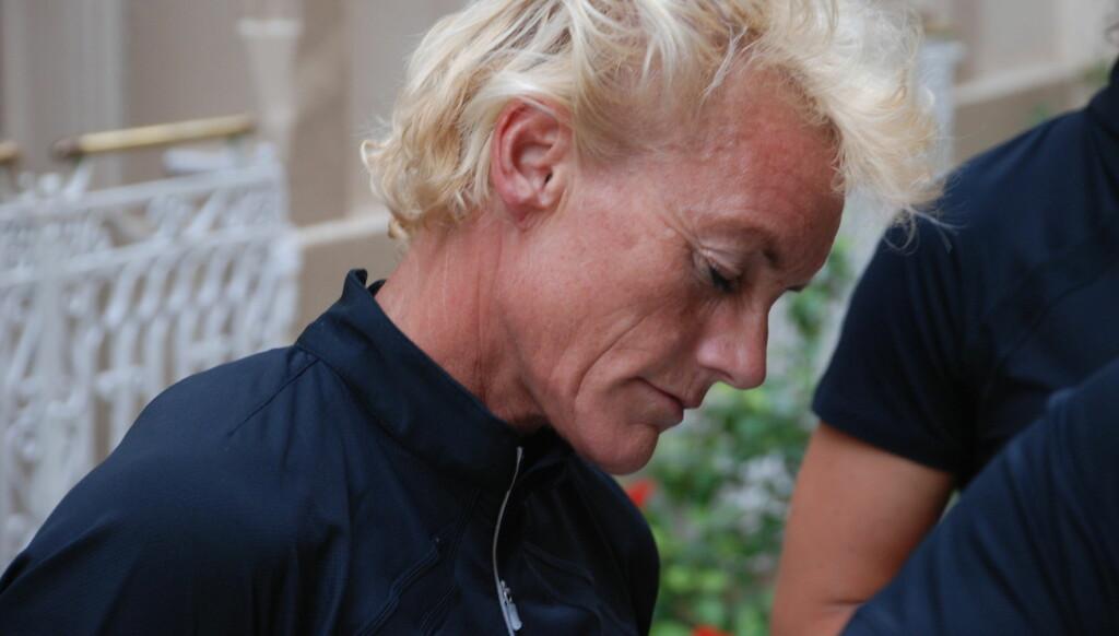 LANGT NEDE: - Jeg har hatt gule stafylokokker og vært utrolig syk. Det er ytterst få som er så uheldig og blir rammet så hardt, sier Anette Bøe. Foto: NRK