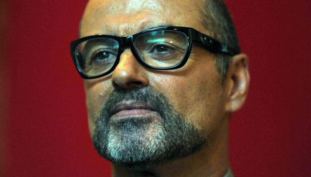 ALVORLIG SYK: George Michael ble nylig lagt inn på akuttmottaket i Wien på grunn av lungebetennelse.  Foto: Stella Pictures