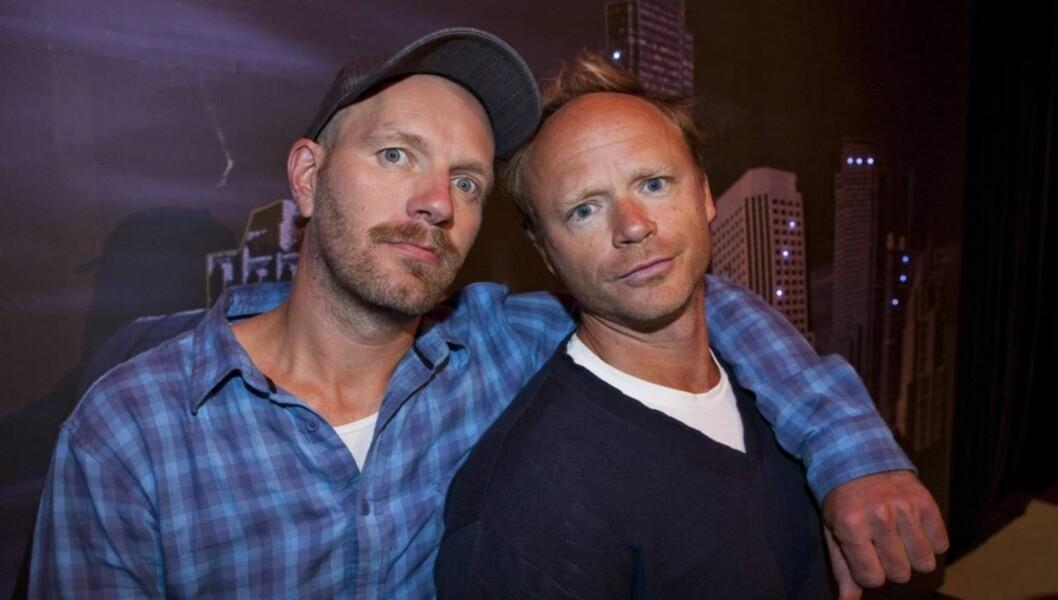 NY SERIE: Bård Tufte Johansen og Harald Eia har premiere på serien Brille i januar. Foto: Per Ervland, Seher.no