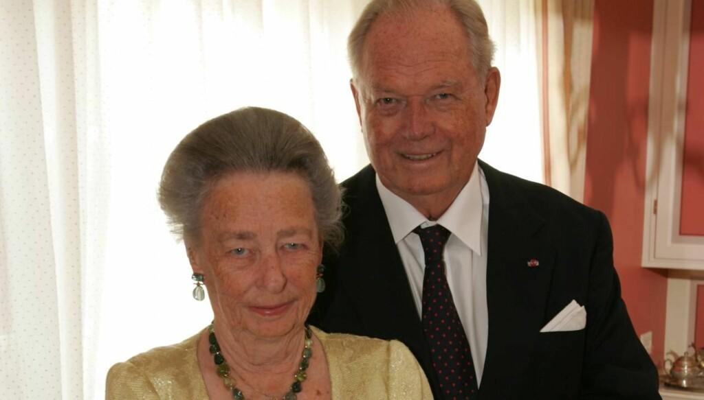 ET HJERTE AV GULL: Prinsesse Ragnhild og ektemannen Erling gir en million kroner til barn med kreft. De ønsker å gjøre livet litt lysere og gladere for barna. Foto: Se og Hør, Tor Kvello