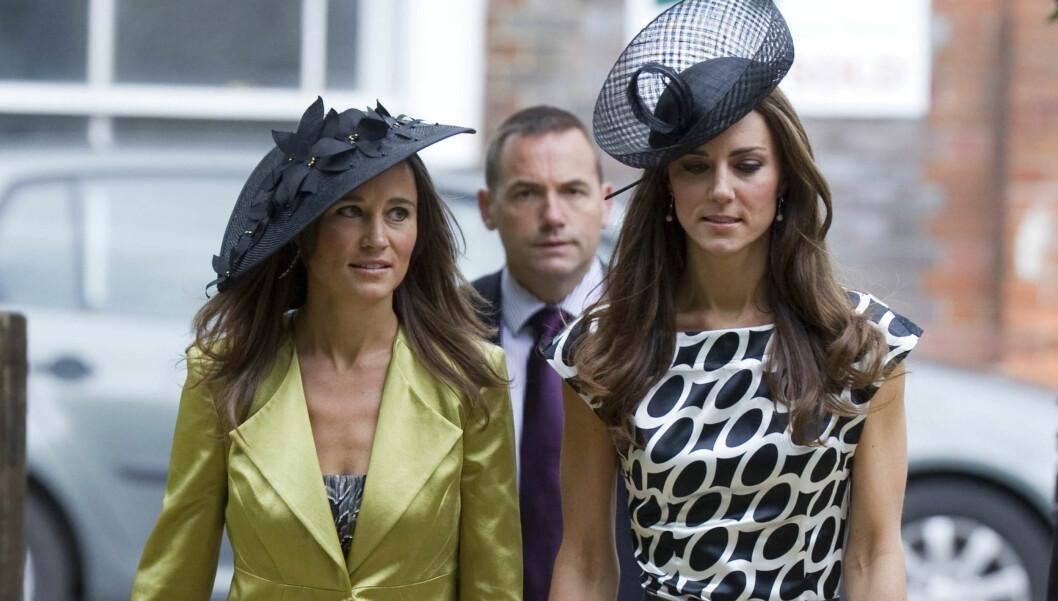 SOSIETETSJAG: Pippa har blitt umåtelig populær etter at søsteren Kate giftet seg med prins William, og nyter oppmerksomheten hun får. Her fra et sosietetsbryllup i sommer. Foto: Stella Pictures