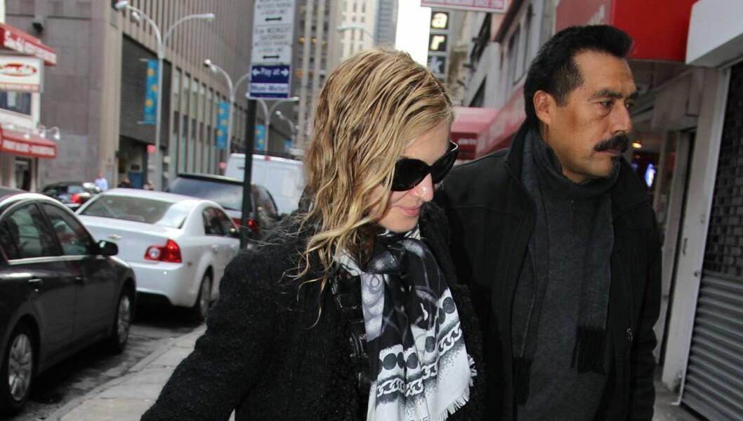 UTSTØTT? Madonna skal ha gått langt over streken, og blir - påstås det - noe frøset ut av sine venner. Foto: All Over Press