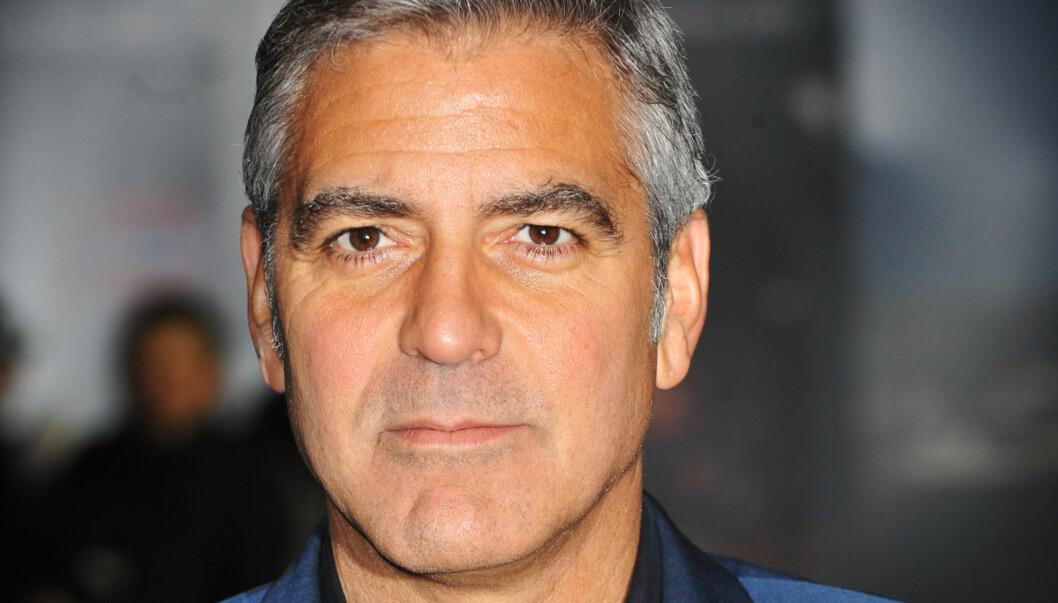 KLARTE IKKE RØRE SEG PÅ TRE UKER: - Jeg tenkte på at jeg måtte gjøre noe dramatisk med situasjonen, sier George Clooney til Rolling Stone. Foto: All Over Press