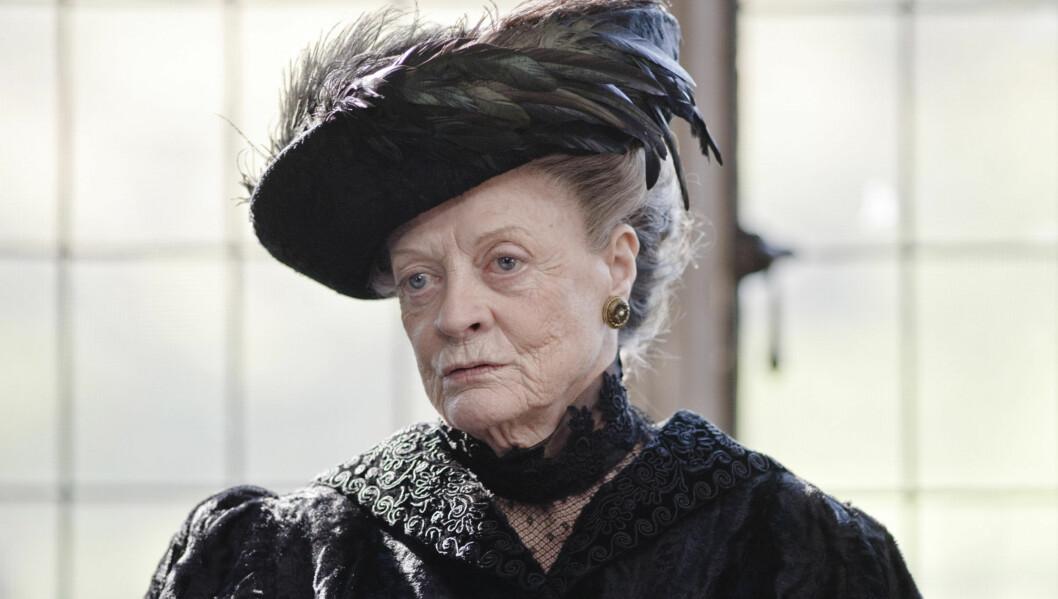 FIKK SCENEFRYKT: Kreften stakk av med selvtilliten til Dame Maggie Smith. Foto: NRK