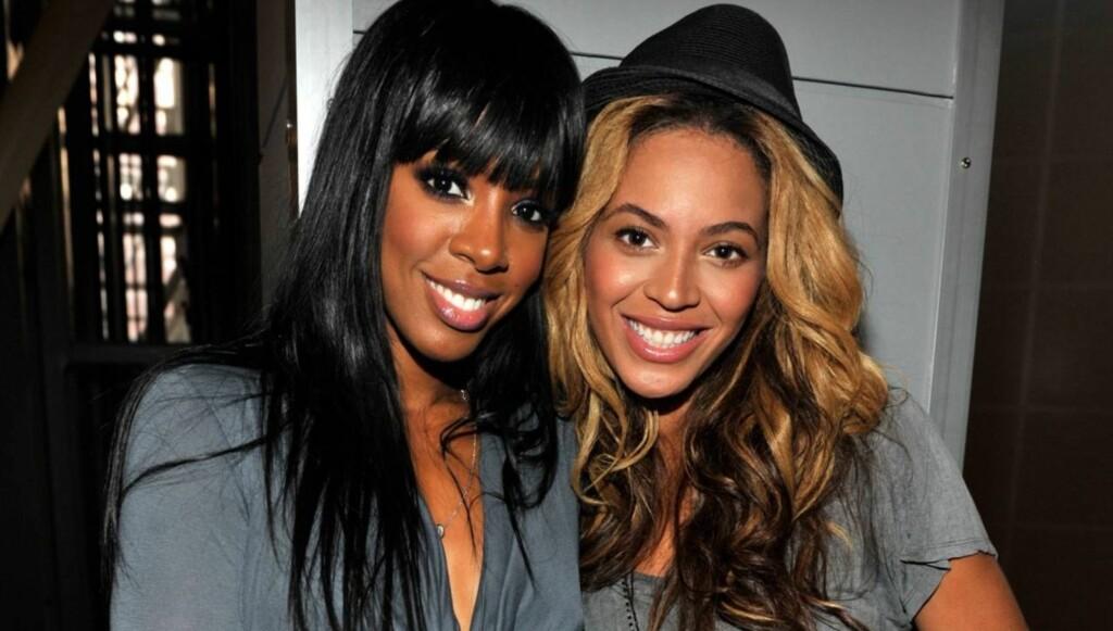 VOPS: Venninnen Kelly Rowland forsnakket seg, og bekrefter at Beyoncé og Jay-Z venter en datter. Foto: All Over Press