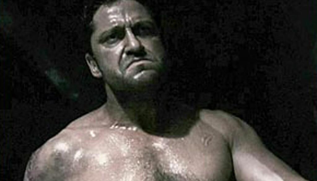 FØR: For et par år siden var Gerard Butler stinn av muskler.  Foto: Stella Pictures