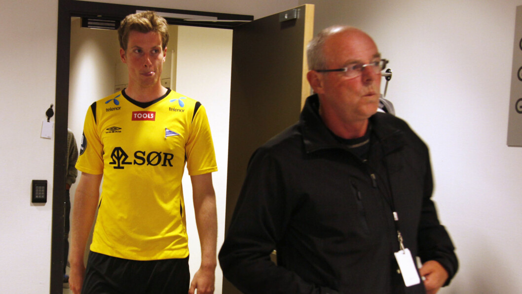 VAR SPILLEAVHENGIG: Jesper Mathisen spilte for mange tusen kroner. Han fikk hjelp av faren Svein. Foto: SCANPIX